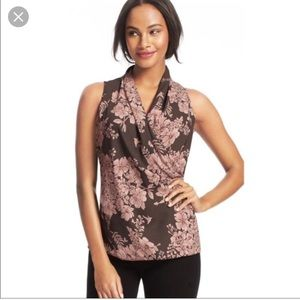 Cabi sleeveless blouse size xsmall